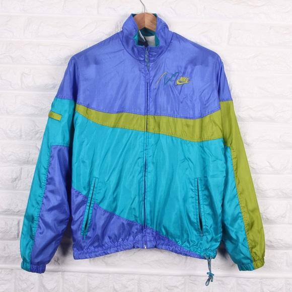 Vintage Nike Windbreaker Jacket Womens Size M. M 5afa669f2ab8c55cde996b3e 68e3802505